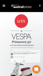 Austral bricks – Win a Vespa Primavera 50