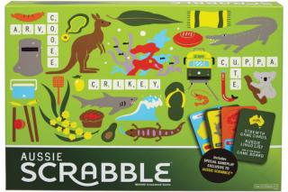 Australian Geographic – Win a Fair-Dinkum Aussie Scrabble Board Game