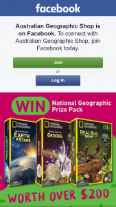 Australian Geographic – Win a Pack Full of Science