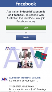 Australian Industrial Vacuum – Win a $100 Bunnings Voucher (prize valued at $100)