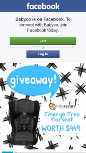Babyco – Win a Infasecure Emerge Treo Carseat In Ebony (prize valued at $449)
