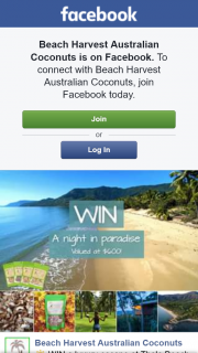 Beach Harvest Australian Coconuts – Win a Luxury Escape at Thala Beach Resort (prize valued at $600)