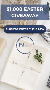 Bhumi Organic Cotton – Win an Assortment of Organic Fairtrade Goodies From Bhumi Organic Cotton Valued at $1000 (prize valued at $1,000)