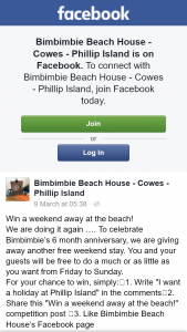 Bimbimbie Beach House Cowes Phillip Island – Win a Weekend Away at The Beach (prize valued at $500)