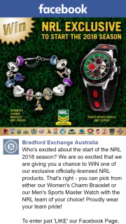 Bradford Exchange Australia – Win One of Our Exclusive Officially-Licensed Nrl Products