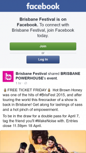 Brisbane Festival – Win a Double Pass to See Hot Brown Honey