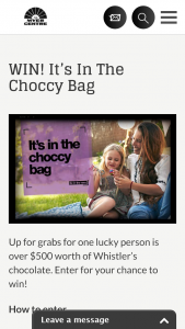 Brisbane Myer Centre – Win Everything In The Choccy Bag (prize valued at $513)