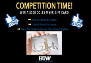 BTW Electrical & Air – Win $100 Coles Gift Card