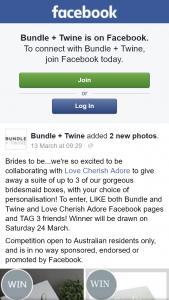 Bundle & Twine – Win Bridesmaid Boxes