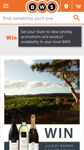 BWS Nepenthe Wines – Win a Luxury Weekend Away In The Adelaide Hills Simply Purchase Any Two Nepenthe Products (prize valued at $1,000)