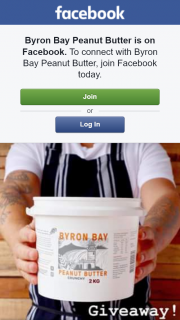 Byron Bay Peanut butter – Win 2kg of Bulk Peanut Butter
