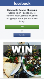 Calamvale Central – Win $25 Gift Voucher to The Coffee Club (prize valued at $50)