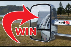Caravanning with Kids – Win a Set of Clearview Towing Mirrors (prize valued at $1,000)