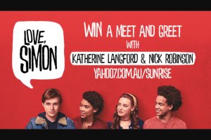 Channel 7 – Sunrise – Win a Meet & Greet With The Stars of Love