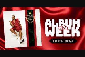 Chilli 90.1FM – Win a Copy of Bruno Mars