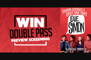 Chilli 90.1FM – Win Double Pass to Preview of Love Simon In Launceston Tas