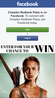 Cineplex Redbank – Win a Deluxe Double Pass to See Tomb Raider