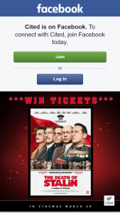 Cited – Win 1 of 5 Double Passes to See The Death of Stalin Thanks to Madman Entertainment