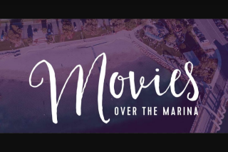 Community News – Win 1 of 2 VIP Experiences for Two to Movies Over The Marina