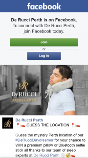 De Rucci guess the Perth location & – Win a Premium Pillow Or Bluetooth Selfie Stick All Thanks to Our Team of Sleep Experts at De Rucci Perth &#128340&#128564&#128716 (prize valued at $79)