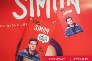 Dymocks – Win One of Five Love Simon Prize Packs