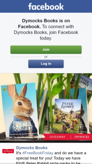 Dymocks – Win One of Five Peter Rabbit Prize Packs