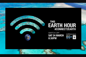 Earth Hour – Win a Trip to Discover The (prize valued at $7,500)