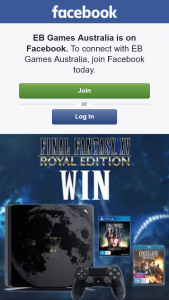 EB Games – Win a PS4 Console & Final Fantasy Pks