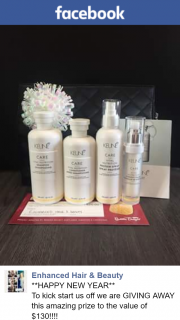 Enhanced Hair & Beauty – Win Hair Care Products By Keune (prize valued at $130)