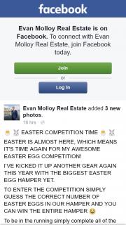 Evan Molloy Real Estate – Win The Entire Hamper