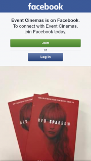 Event Cinemas Springfield – Win One of Two Red Sparrow Novels