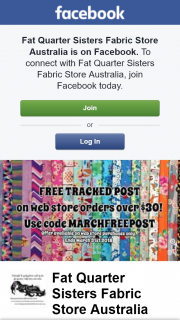 Fat Quarter Sisters Store – Win One of These Fat Quarter Sets? (prize valued at $1)