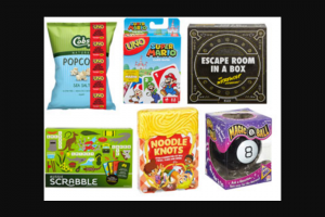 Femail – Win One of 2 X Cobs Popcorn Game Pack Valued at $100 Each Including (prize valued at $100)
