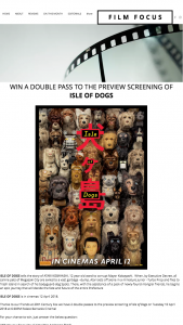 Film Focus – Win a Double Pass to The Preview Screening Of