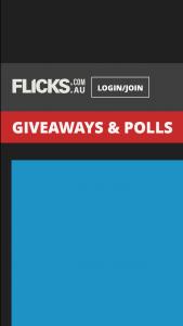 Flicks – Win 1/5 Blu Ray Copies of Star Wars The Last Jedi