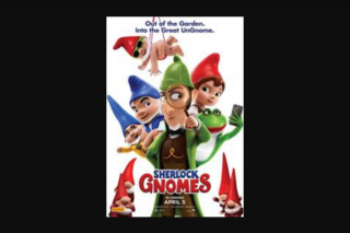 Girl – Win One of 20 X In-Season Double Passes to Sherlock Gnomes