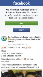 Go Healthier – Win a Pure Peninsula Honey Basket