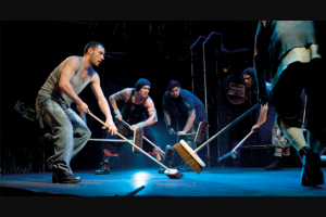 Haven magazine – Win One of Two Family Passes to See Stomp