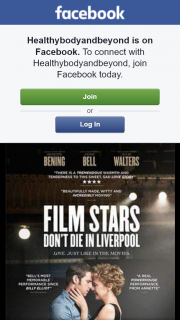 Healthybodyandbeyond – Win One of Two Double Passes Film Stars Don't Die In Liverpool