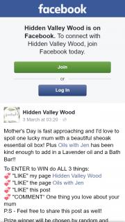 Hidden Valley Wood – Win 1 X Sheoak 80 Essential Oil Box