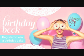 7HOFM – Win a Birthday Cake