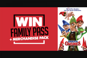 7HOFM – Win a Family Pass and Merchandise Pack
