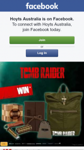 Hoyts Australia – Win 1 of 5 Tomb Radier Packs(9pm