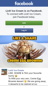 Ice-cream – Win Your Very Own