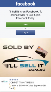 I'll Sell It – Win a $100.00 Coles Express Gift Card