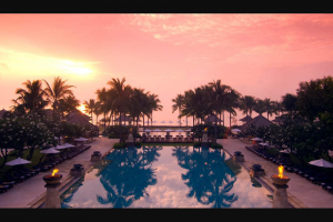 International Traveller – Win Two Night Stay In a Conrad Suite at Conrad Bali $1733 (prize valued at $1,733)