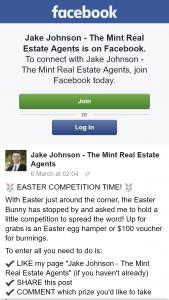 Jake Johnson Mint Real Estate – Win $100 Bunnings Voucher Or Easter Hamper
