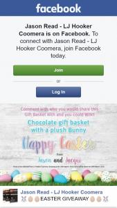 Jason Read LJ Hooker Coomera – Win a Easter Basket & Plush Bunny