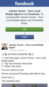 Jemma Turner Real Estate – Win Easter Giveaway