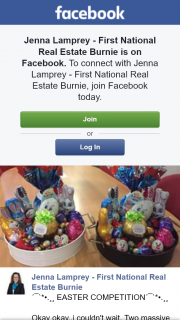Jenna Lamprey – Win 1 of 2 Easter Hampers (prize valued at $200)